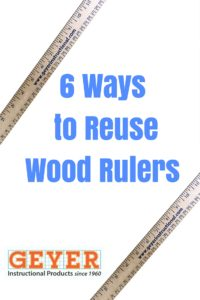 6 Ways to Reuse Wood Rulers