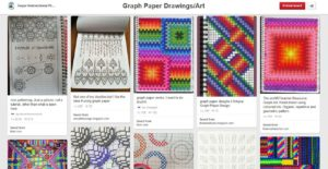 graph paper art designs pinterest